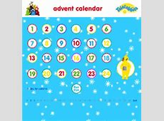 urban75 design, BBC Teletubbies Christmas advent calendar