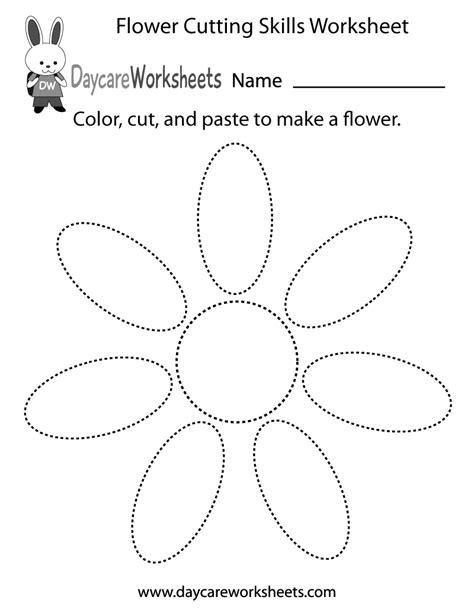 images  preschool cut  paste shape worksheets