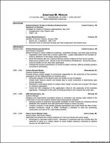 Resume For Professional by Free Professional Resume Template Downloads Free Sles