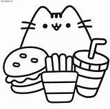 Coloring Cat Grumpy Bubakids Animal Thousand Regarding Through sketch template