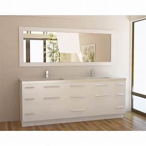 84 Inch Bathroom Vanity: The Variants HomesFeed