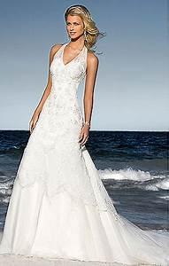 halter beach wedding dresses With halter beach wedding dresses