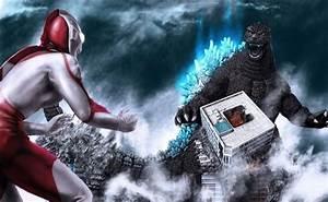 Godzilla vs Ultraman   Gojira   Pinterest