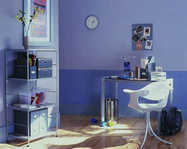 peinture bureau aménagement coin bureau dans maison avec peinture nuances