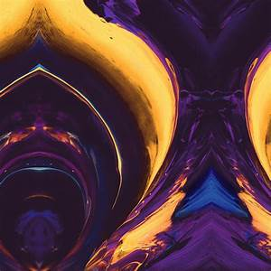 Film Vs Digital Vs33 Htc Abstract Art Paint Pattern Purple Yellow Color