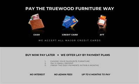 payment plans lay bye truewood furniture