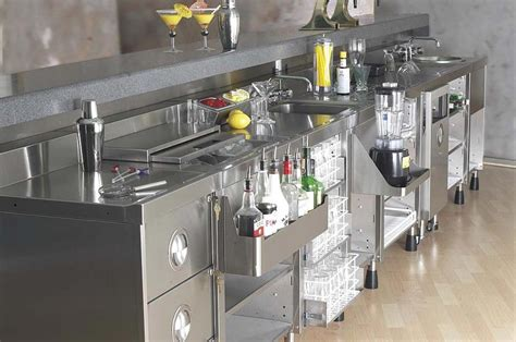 Modular Bar by Backbar 171 Ced Fabrication