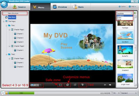 burn vlc media files   dvd