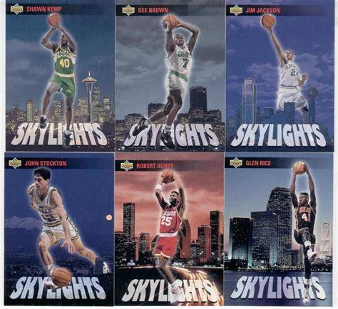 Deck Michael Skylights by 1993 94 Deck Skylights Michael Complete Set