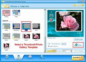 html photo gallery tutorial how to make a html photo With free flash slideshow templates