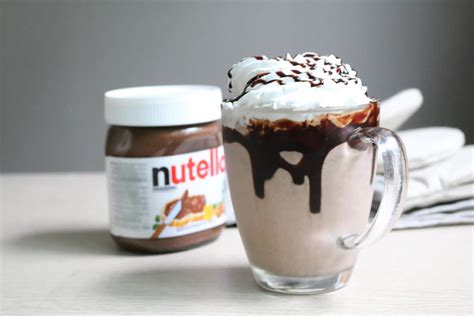nutella milkshake au thermomix blogs de cuisine
