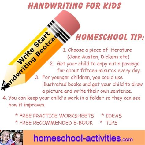 Handwriting For Kids Help And Tips