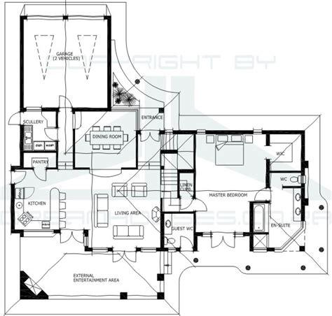 floor plans za african house plans