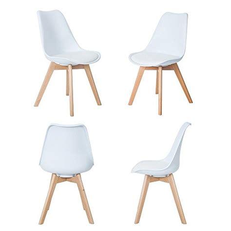 chaises de cuisine et de salle à manger chaises de salle 224 manger modernes ensemble de 4 chaise