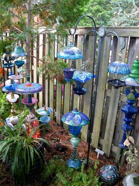 decoration jardin recup exemples damenagements
