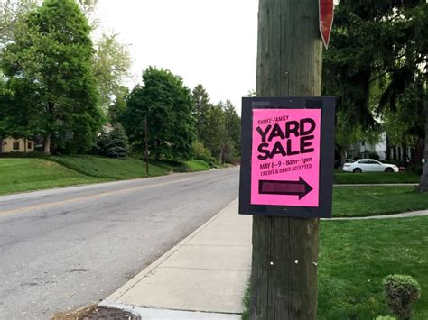 Garage Sale On by Yard Sale Tips Tricks How We Made 1549