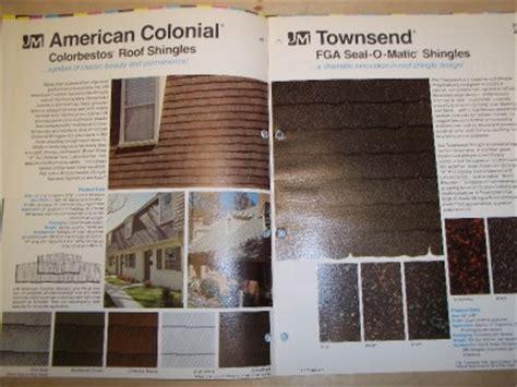 johns manville catalog asbestos roofing shingles colorbestos 1968