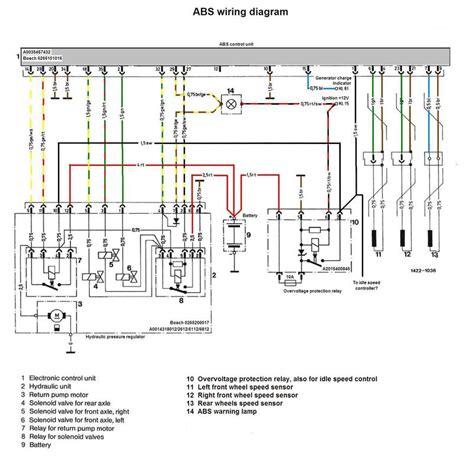 mercedes sprinter abs wiring diagram mercedes abs diagram