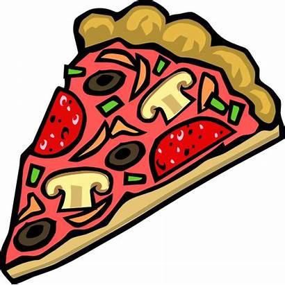 Pizza Clipart Clip Cliparts Plain Fast Soda