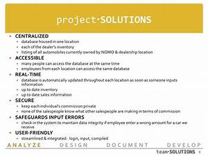 nomo1 database proposal final With database proposal template