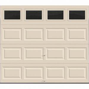 clopay premium series 8 ft x 7 ft 129 r value With 7x16 insulated garage door