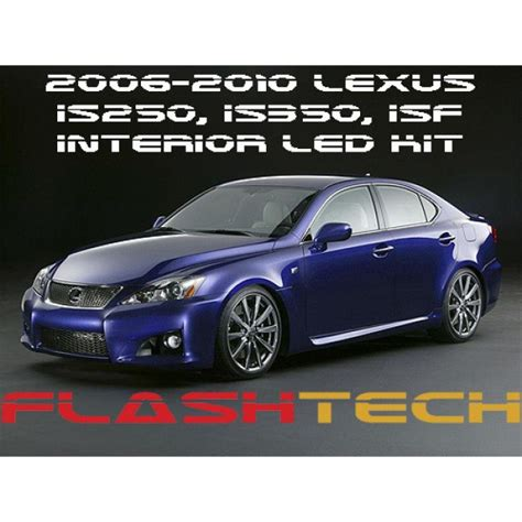 isf lexus red 2006 10 lexus is250 is350 isf white led interior kit