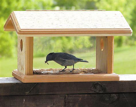 birds choice bluebird feeder quality handcrafted cedar