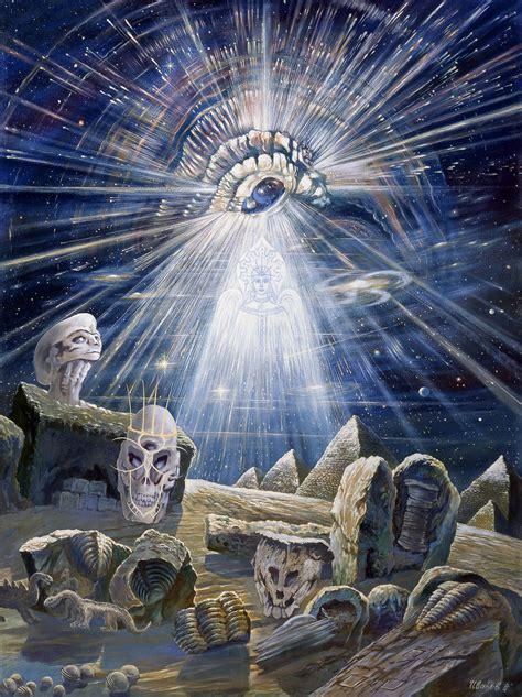 A Pagan Place: Pagan Art: Slavic Creation Myth by Ivanov