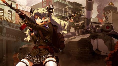 12 Anime Military Girl Wallpaper Anime Top Wallpaper