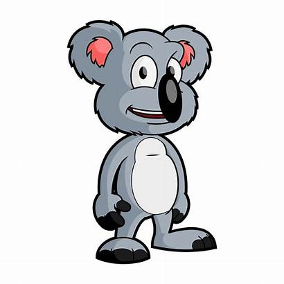 Koala Bear Cartoon Clipart Clip Vector Character