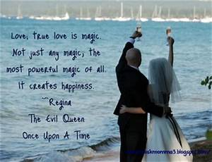 """Love; true love is magic. Not just any magic, the most ..."