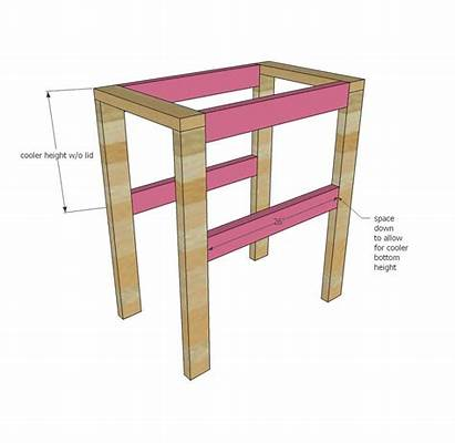 Cooler Pallet Stand Ana Plans Diy Wood