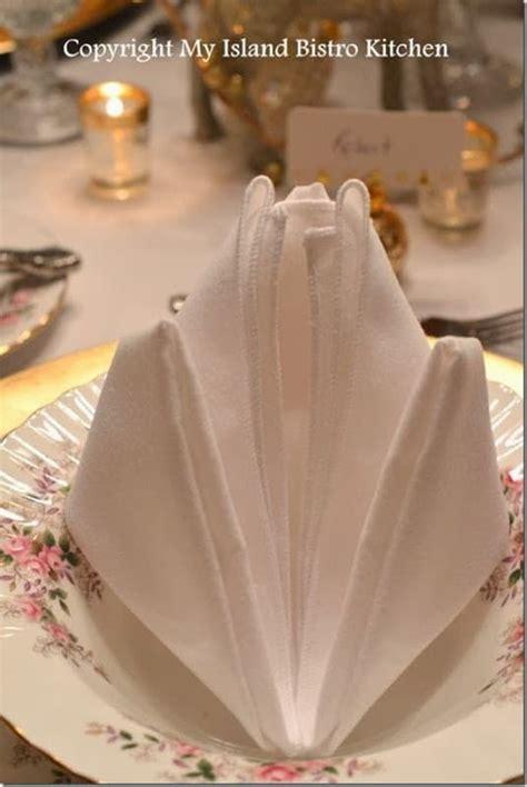 napkin folding styles page    setting