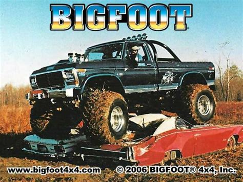 original bigfoot monster bigfoot the original monster truck blue oval trucks