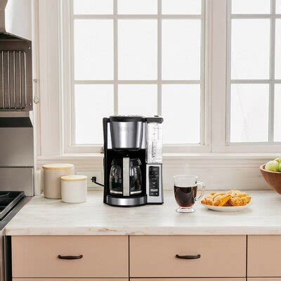 Water reservoir, and thermal flavor extraction (ce201), black/stainless steel hotter brewing technology: Ninja Replacement Carafe   Wayfair