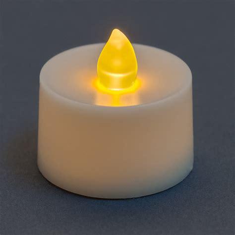 amber led tea lights battery operated tea light candle amber