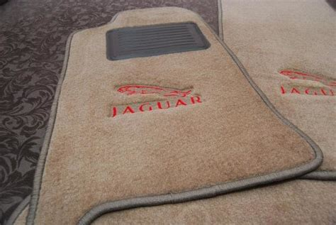 Jaguar X Type Floor Mats With Logo