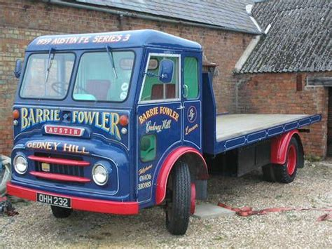 1959 Austin Flat Bed Lorry- Last One Known Of Its Type On