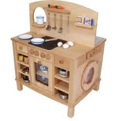 kinder holz küche 4 seitg bespielbare kinder küche holz spielzeug peitz