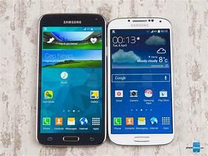 Samsung Galaxy S5 Vs Samsung Galaxy S4