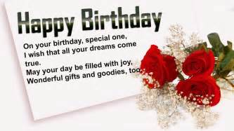 birthday wishes for someone special in your special birthday wishes