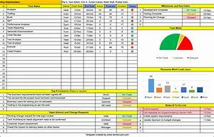 one page project manager excel template free download With ms office excel templates free download