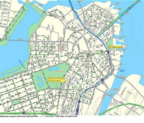 map boston streetsat