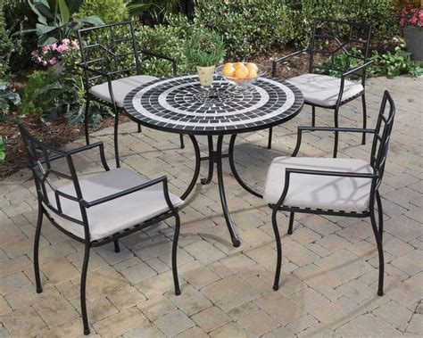 Small Patio Table Set by Small Black Patio Furniture Ideas Inch Table Large Glass