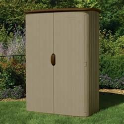 suncast vertical storage shed 52 cu ft model bms4500 resin sheds storage buildings