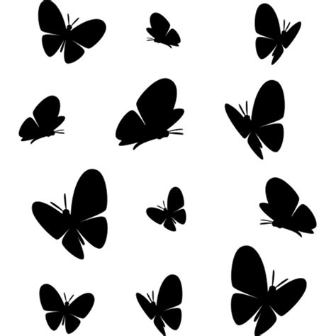 Free printable butterfly templates.you can use these free printers to make a paper butterfly, a butterfly wall, or as a simple butterfly character. BUTTERFLY DECALS (Decor) Butterfly Silhouettes, BUTTERFLY DECALS...