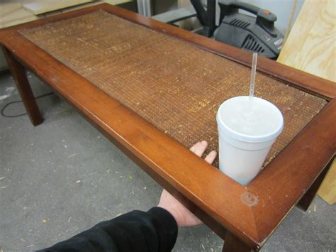 wooden table with tile top how to refinish and tile a coffee table the home depot