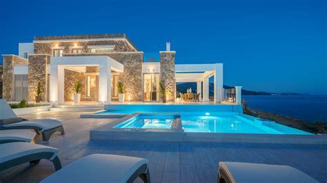 villa aria greek villas boutique luxury villa