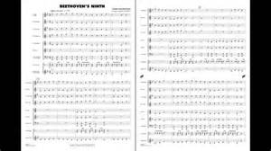 Beethoven's Ninth arranged by Paul Lavender - YouTube