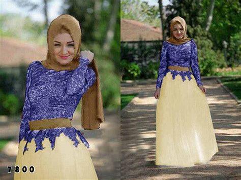 Sv5987 Maxi Raffa Brukat grosir baju murah dan busana muslim big sale